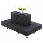 Cira Rectangle Seating Black